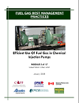 Fuel Gas Best Management Practices - Efficient Use Of Fuel Gas in Chemical Injection Pumps